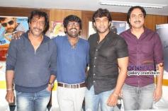 Om Prakash Rao, Nagashekhar, Chiranjeevi Sarja at Chandralekha Movie Press Meet