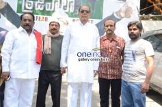 Paruchuri Gopalakrishna, M. S. Narayana, D. Ramanaidu at Krejiwala Movie Opening