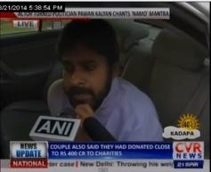 Pawan Kalyan Met Narendra Modi today