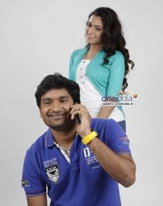 Pawan Wadeyar and Sangeetha Bhat in Kannada Movie Preethi Geethi Ityaadi