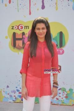 Payal Rohatgi at Zoom Holi Party 2014