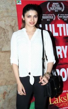 Prachi Desai at Special Screening of Laxmi at Lightbox