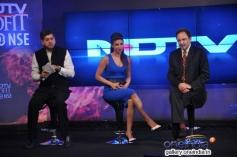 Priyanka Chopra at NDTV's first dual channel launch