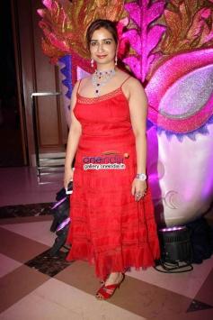 Producer Rashmi Sharma on her birthday celebration at JW Marriot