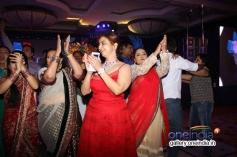 Producer Rashmi Sharma performs on her birthday celebration at JW Marriot