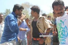 Pavan Wadeyar, Puneeth Rajkumar at Rana Vikrama Movie Opening