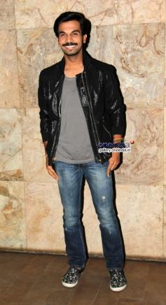 Raj Kumar Yadav at Queen film screening