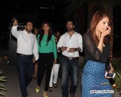Raj Kundra, Shilpa, Harman and Bipasha Basu snapped at Yauatcha restaurant