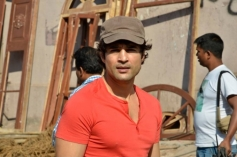 Rajeev Khandelwal on the sets of Samrat And Co