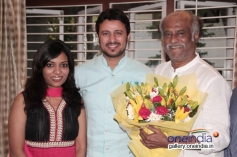 Rajinikanth blessed his old friend's daughter Amritha - actor Raja wedding