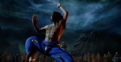 Rajinikanth still from Kochadaiyaan