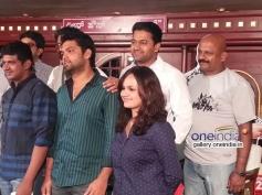 Rakshit Shetty, Sheetal Shetty at Ulidavaru Kandante Movie Press Meet