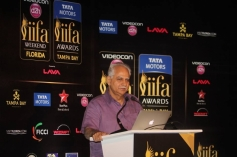 Ramesh Sippy addressing at IIFA 2014 Press Conference