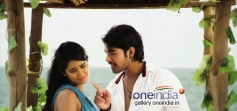 Rashi Singh and Varun in Kannada Movie Mamu Tea Angadi