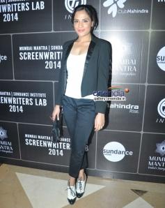 Richa Chadda at Third annual Mumbai Mantra Sundance Institute Screenwriters Lab 2014