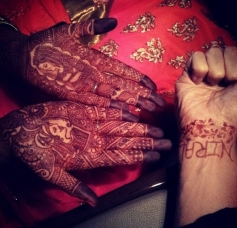 Ruslaan Mumtaz and Nirali Mehta's wedding