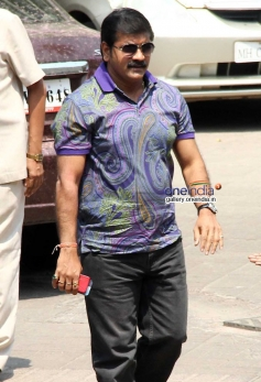 Sachin Ahir at Sanjay Gupta's Holi celebration