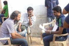 Saivam film on location still