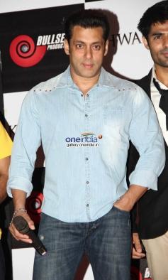 Salman Khan at Music Launch of Khaawb