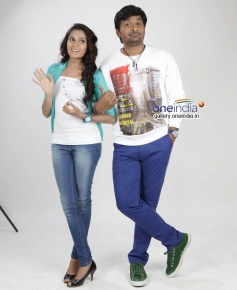 Sangeetha Bhat and Pawan Wadeyar in Kannada Movie Preethi Geethi Ityaadi
