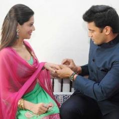 Sangram Singh engaged to Payal Rohatgi in Ahmedabad