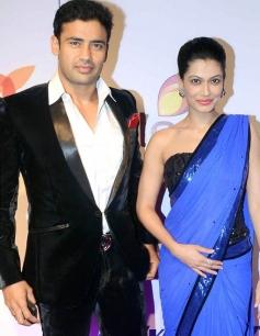 Sangram Singh and Payal Rohatgi at Stree Shakti Women Awards 2014