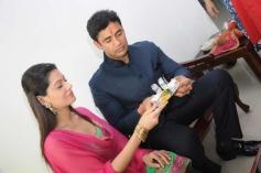 Sangram Singh and Payal Rohatgi's engagement