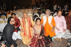 Sanjay Leela Bhansali and Pandit Jasraj at Launch of Shreya Ghoshal's Humnasheen ghazal album