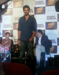Saqib Saleem at Hawaa Hawaai film trailer launch