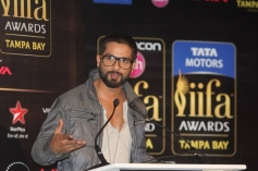 Shahid Kapoor addressing at IIFA 2014 Press Conference