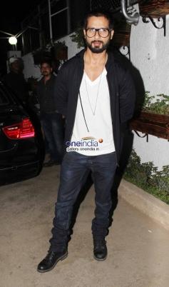 Shahid Kapoor at Inam film special screening