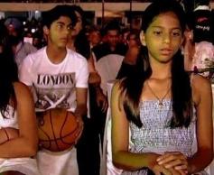 Shahrukh Khan Son Aryan & Daughter Suhana Khan