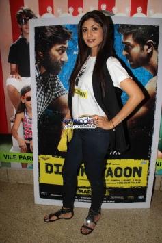 Shilpa Shetty at Dishkiyaoon film screening