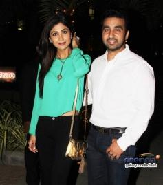 Shilpa Shetty and Raj Kundra snapped at Yauatcha restaurant