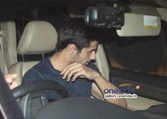 Siddharth Malhotra snapped at Karan Johar's house