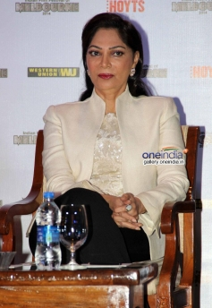 Simi Garewal at the press conference of Indian Film Festival of Melbourne