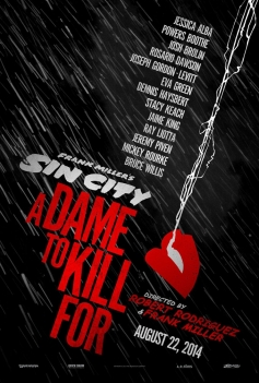 Sin City A Dame to Kill poster