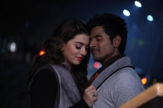 Siva Karthikeyan and Hansika Motwani still from Maan Karate