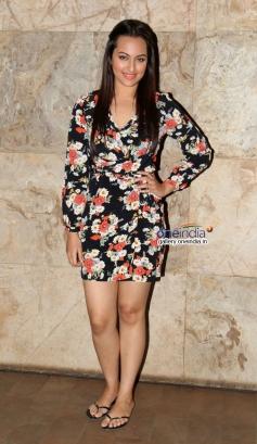 Sonakshi Sinha at Queen film screening