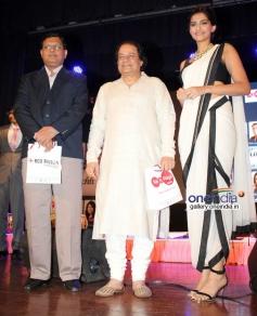 Sonam Kapoor during the launch of ghazal album Kuch Dil Ne Kaha