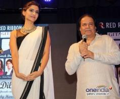 Sonam Kapoor snapped at the launch of ghazal album Kuch Dil Ne Kaha