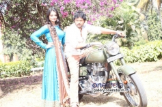 Srinagar Kitty On the Sets of Kannada Movie Geethanjali