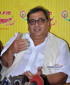 Subhash Ghai's film Kaanchi promotion on Radio Mirchi