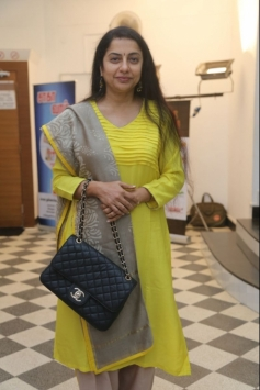 Suhasini Maniratnam at Saga Charitable Trust event