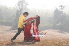 Sunil Raj and Ahana in Kannada Movie Jaggi