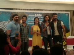 Sunny Deol, Ayesha Khanna, Shilpa Shetty and Harman Baweja at Dishkiyaoon film press conference