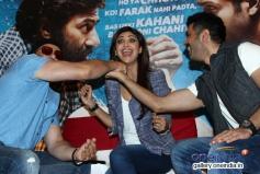 Sunny Deol, Shilpa Shetty and Harman Baweja at  media interaction of film Dishkiyaoon