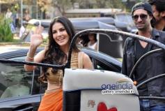 Sunny Leone and Daniel Weber at Ragini MMS 2 success bash