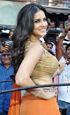 Sunny Leone during the film Ragini MMS 2 success bash