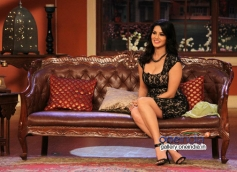 Sunny Leone on the sets of Comedy Nights With Kapil